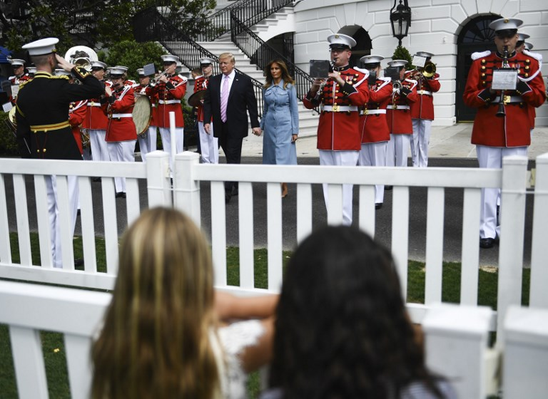 US - POLITICS - TRUMP - EASTER - EGG ROLL