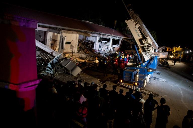 TOPSHOTS - PHILIPPINES - EARTHQUAKE