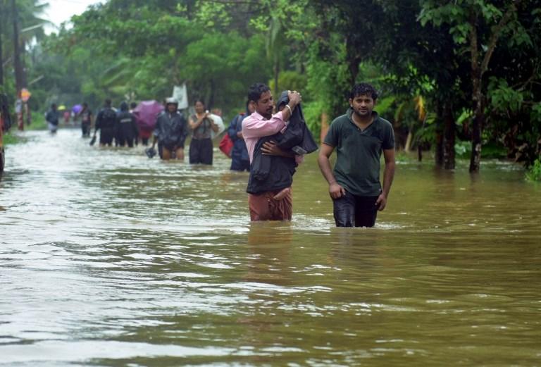 Rescue operation - flooding - flood victims - evacuation - Kerala